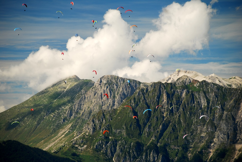 Paragliding competition (9)