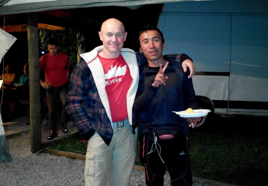 Paragliding pilot from Indonesia